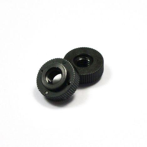 20 pi/èces M5 ajile longueur = 12 mm plastique polyamide PA6.6 isolant Vis molet/ée fendue nylon diam