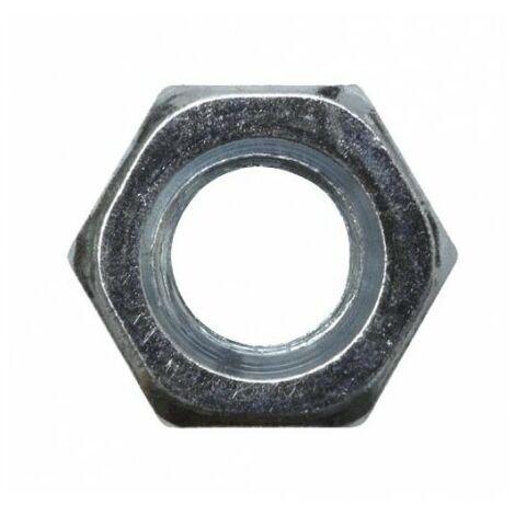 Ecrou zingué - M 20 - Boite de 10