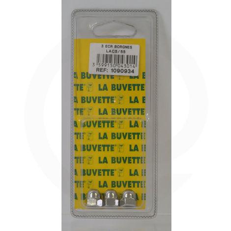 Ecrous borgnes pour Lac5 et Lac55 - La Buvette