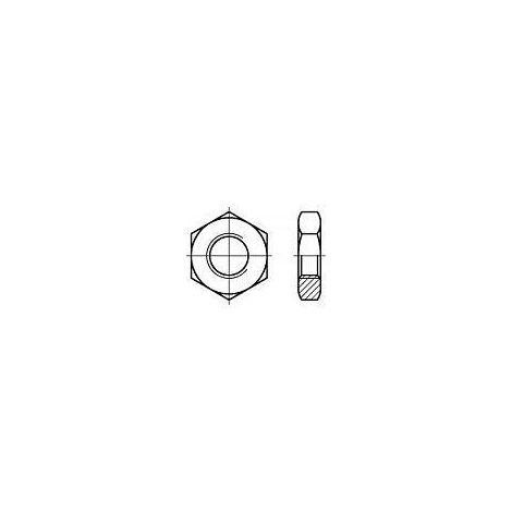 """main image of """"ÉCROUS HEXAGONAUX DIN 439 ACIER INOXYDABLE A4 M2 100 PC(S)"""""""