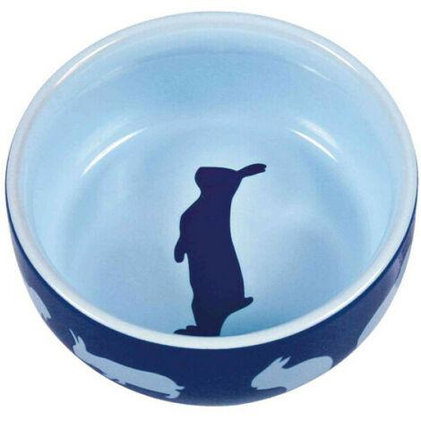 Ecuelle en céramique avec motifs pour lapins Trixie