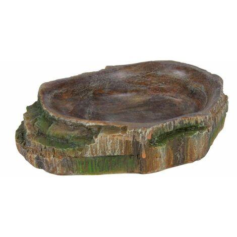 Ecuelle pour eau et nourriture pour reptile - 10 × 2,5 × 7,5 cm
