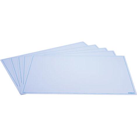 Ed Tech A3 Blank Write N Wipe Boards - Pack of 5