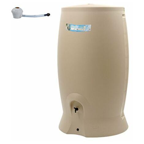 EDA Plastiques Recup'O 1000L Rotomoulé Récupérateur d'eau, Beige