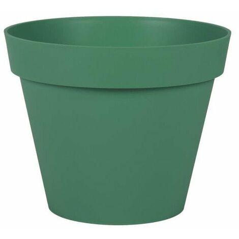 EDA Pot rond Toscane - 30 cm - 10 L - Vert Jungle