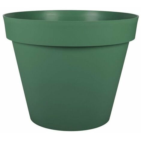 EDA Pot rond Toscane - 60 cm - 76 L - Vert jungle