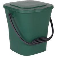 EDA - Seau compost + couvercle 6L - vert canada