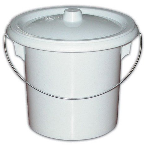 """main image of """"EDA - Seau de toilette pour adulte - crème"""""""