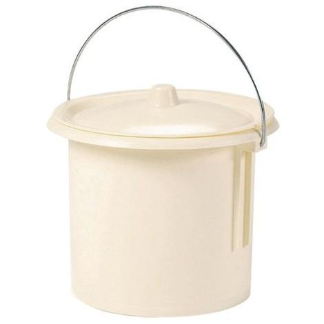 EDA - Seau de toilette pour enfant - crème