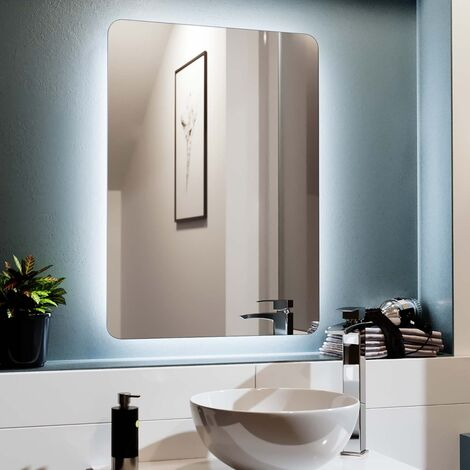 Edale LED Illuminated Rectangular Demister Mirror 500 X 700mm