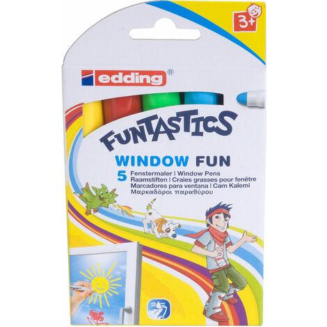 Edding 4-16-5 16 Funtastics Window Fun Marker Pen