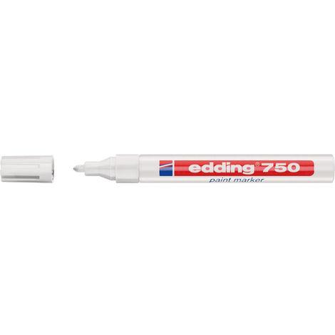 Edding Lackmarker Nr 750 weiß