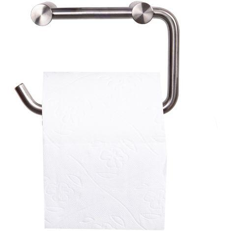 Edelstahl Klopapierhalter Hobart Toilettenpapierhalter matt gebürstet Rollenhalter