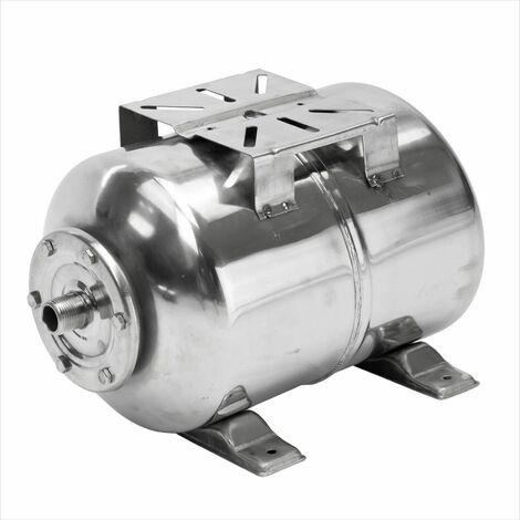 Edelstahl Membran Druckkessel für Hauswasserwerk HWW 24L Druckbehälter 6 bar