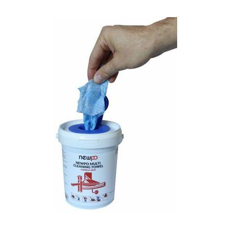 Edelstahl-Reinigungstücher | 35 Tücher | newpo abrasiv