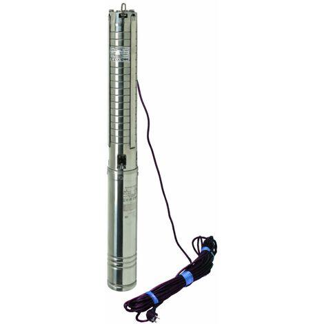 """Edelstahl Tiefbrunnenpumpe 4"""" 230 oder 400 V bis 14400l/h Brunnenpumpen sandverträglich 2,2 kW"""