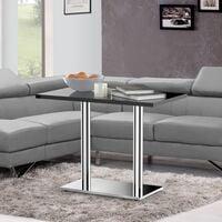 Edelstahl Untergestell Tischbein Tischplattenträger Säule Sockelfüße Tischfuß