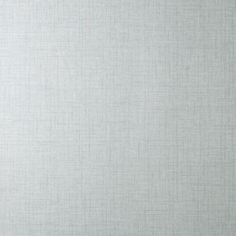 Eden Plain Wallpaper Crown Textured Vinyl Material Effect Grey Modern