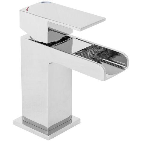 Edessa Waterfall Cloakroom Mono Basin Mixer Tap