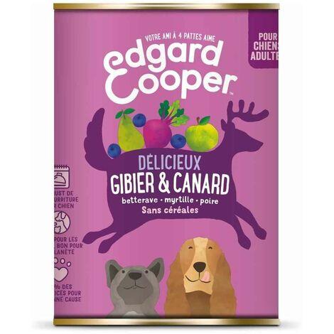 Edgard & Cooper - Boîte au Gibier et Canard pour Chien - 400g
