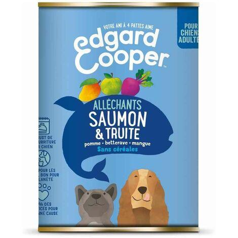 Edgard & Cooper - Boîte au Saumon et Truite pour Chien - 400g