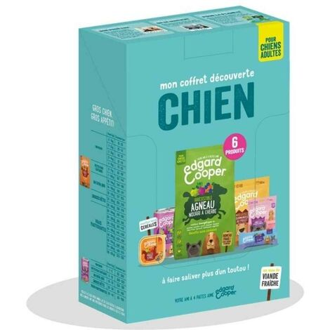 Edgard & Cooper - Coffret Découverte pour Chien