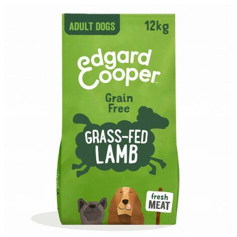 Edgard & Cooper, pienso sin cereales con cordero fresco para perros adultos