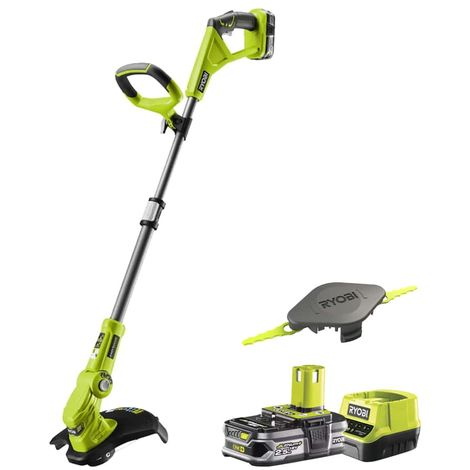 Edge trimmer - edge dresser RYOBI 18V OnePlus - 1 LithiumPlus 2.5Ah battery - 1 quick charger - 1 Double serrated blade