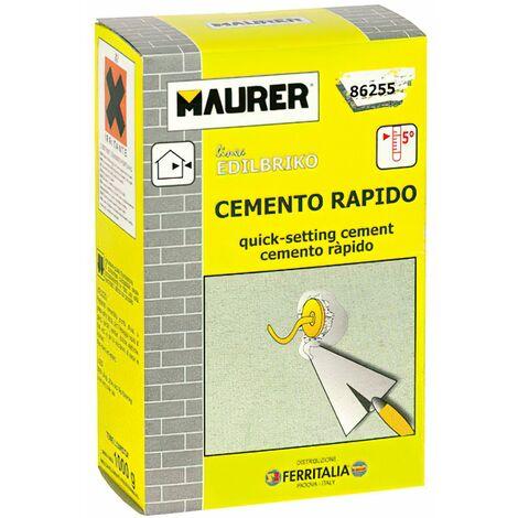 Edil cemento rápido maurer (caja 1k)