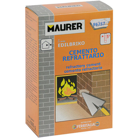 "main image of ""Edil Cemento Refractario Maurer (Caja 1 kg.)"""