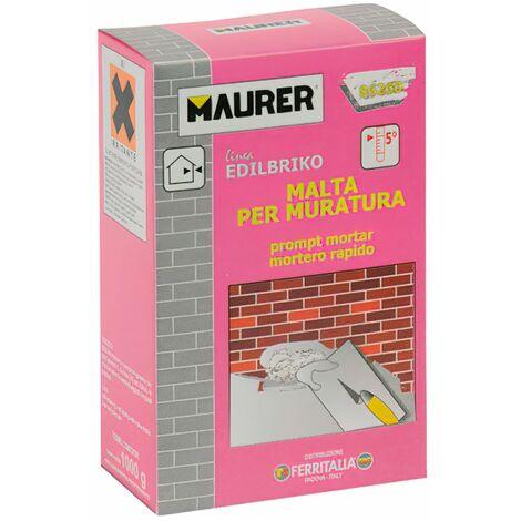 Edil Mortero Rápido Maurer (Caja 5 kg.)