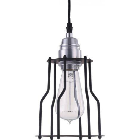 Edison Pendant Lamp Cage - Aluminum Black