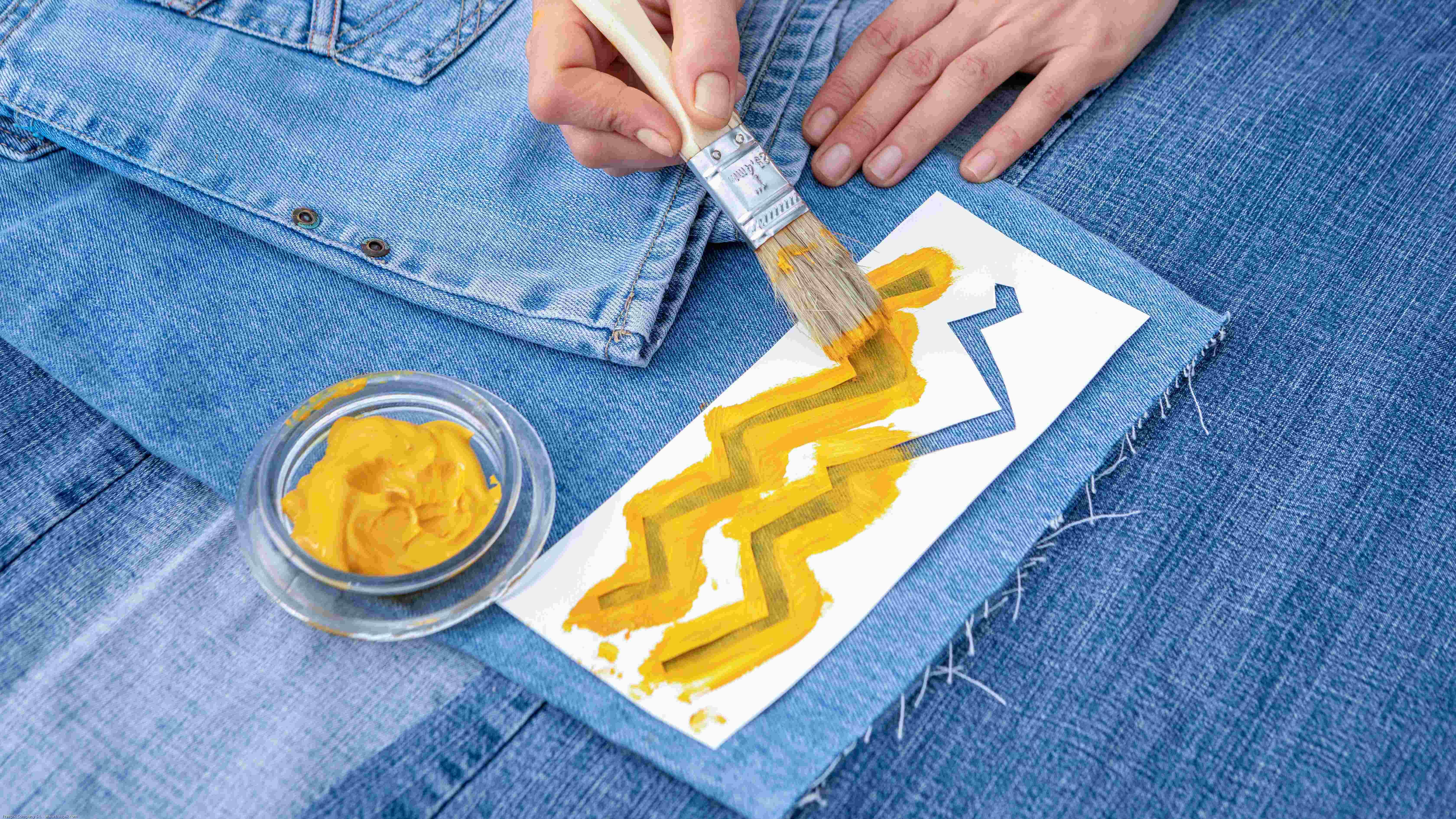 Peinture tissu :  comment peindre un tissu ou un textile