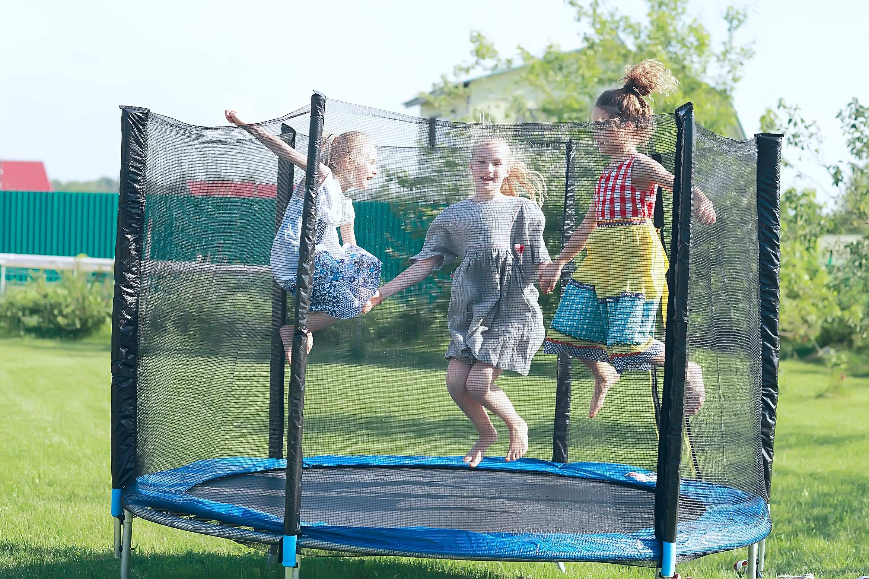 Conditions d'installation  d'un trampoline