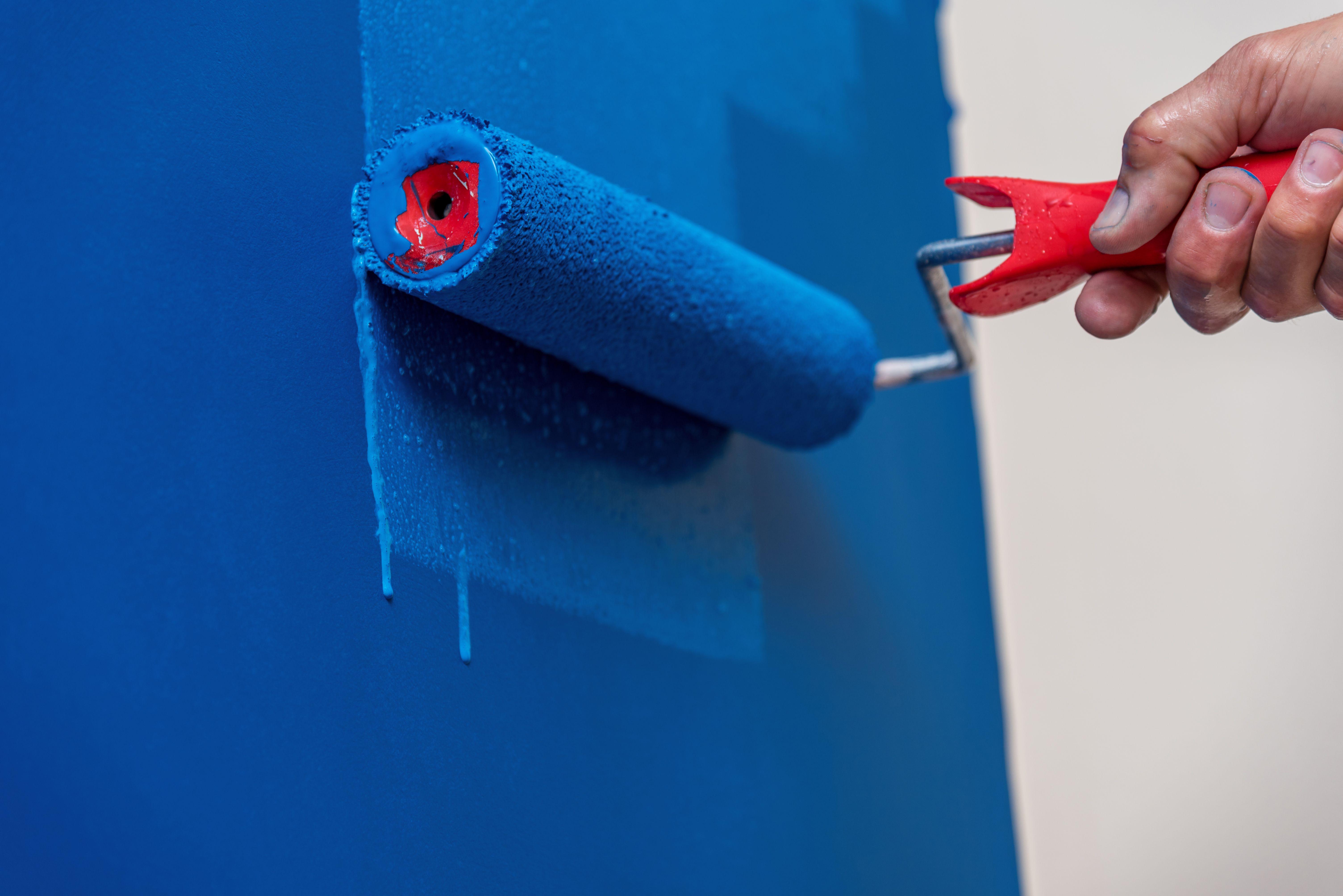 Peinture qui coule :  comment éviter les coulures