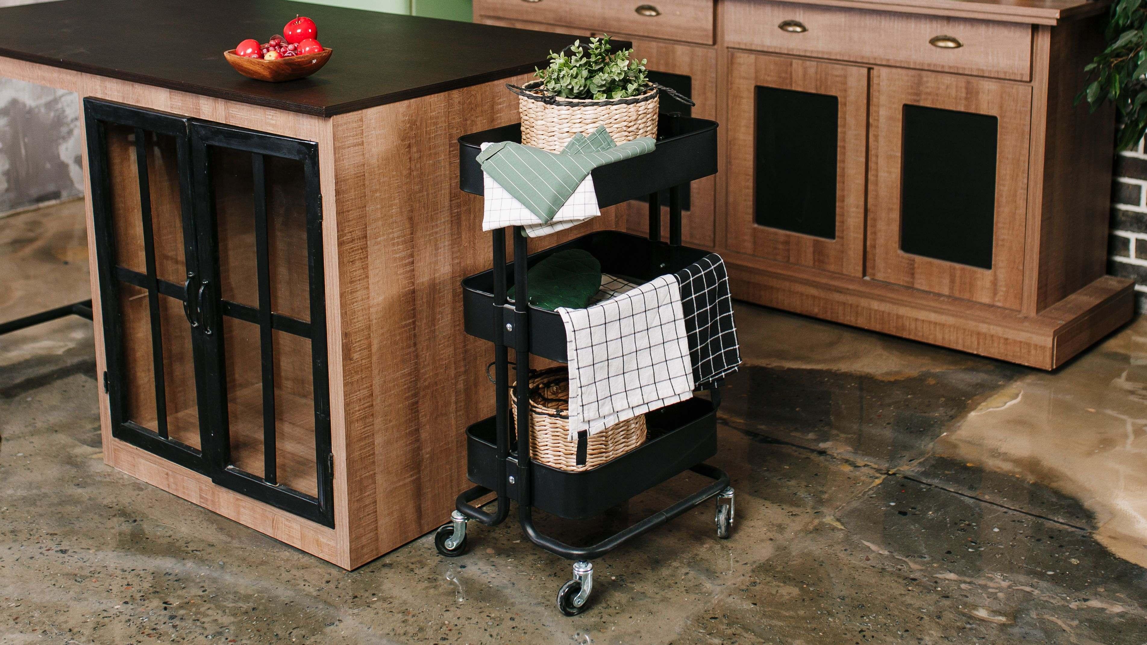 Wie wählt man einen Servierwagen für die Küche?