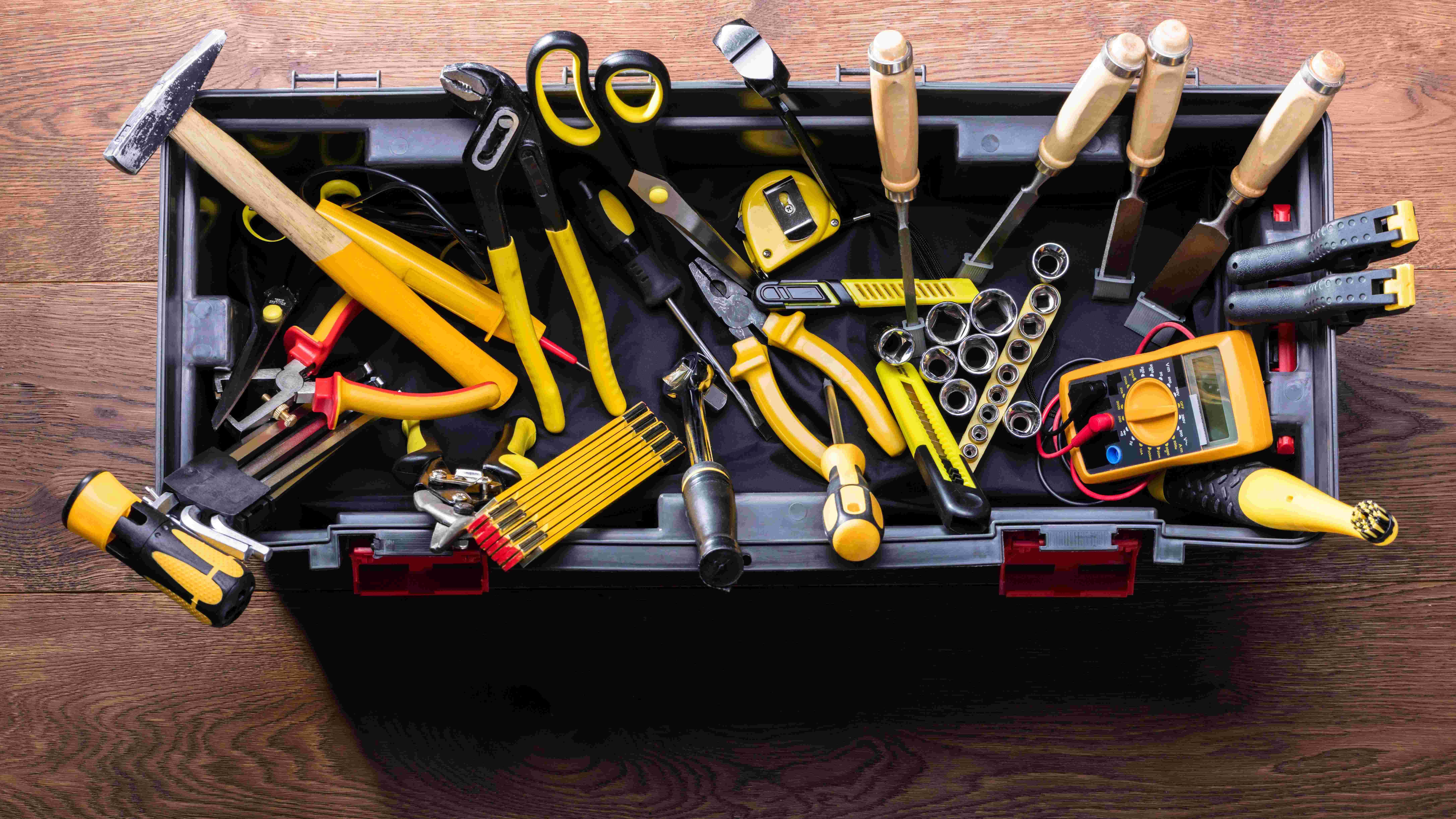 Caisse à outils du débutant  : ce qu'il faut avoir