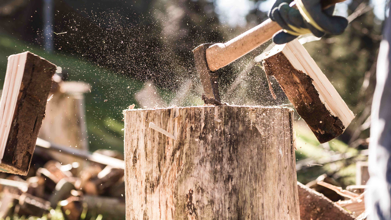 Brennholz machen: So geht's