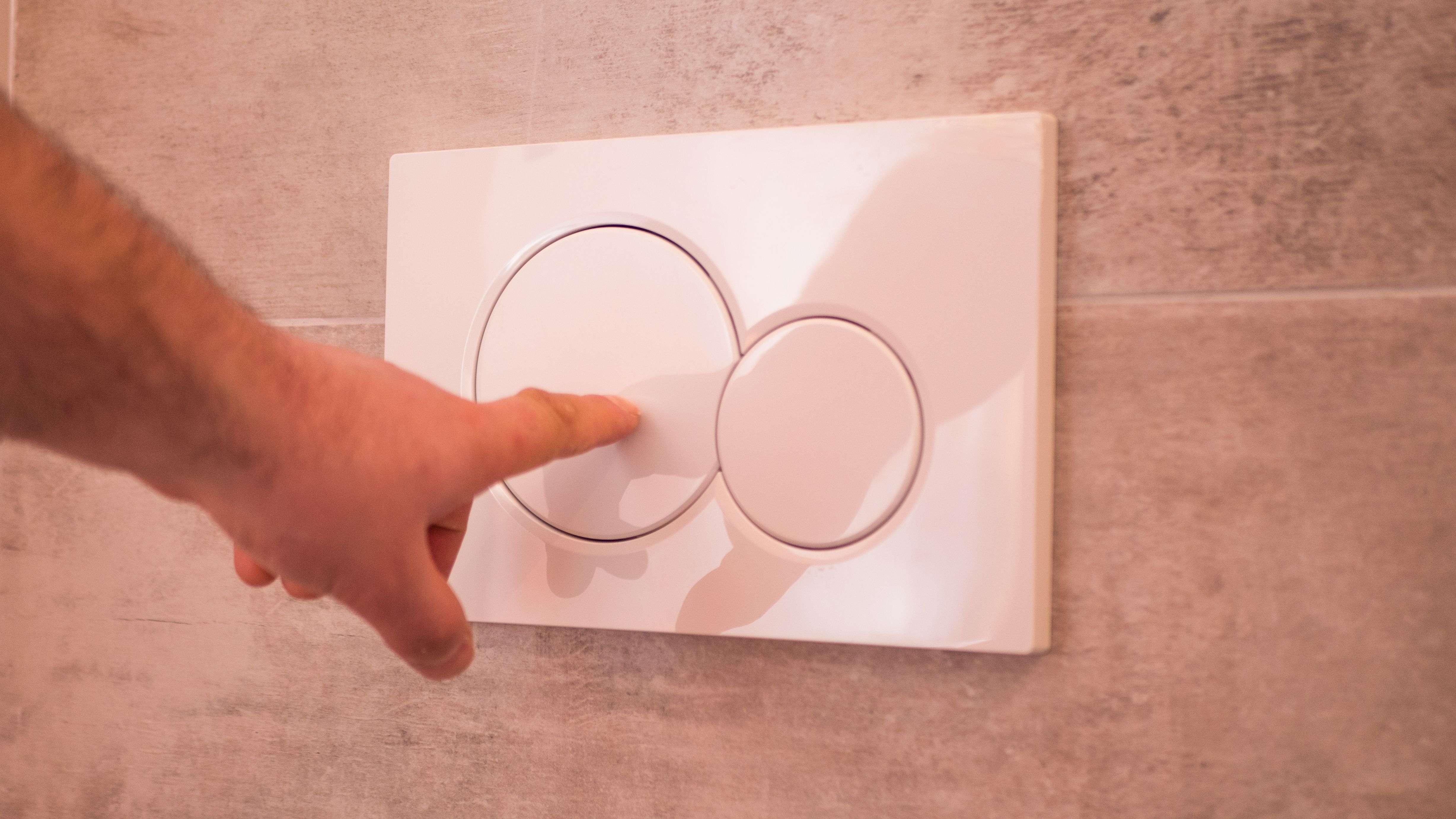 Cómo elegir un pulsador para cisternas empotradas