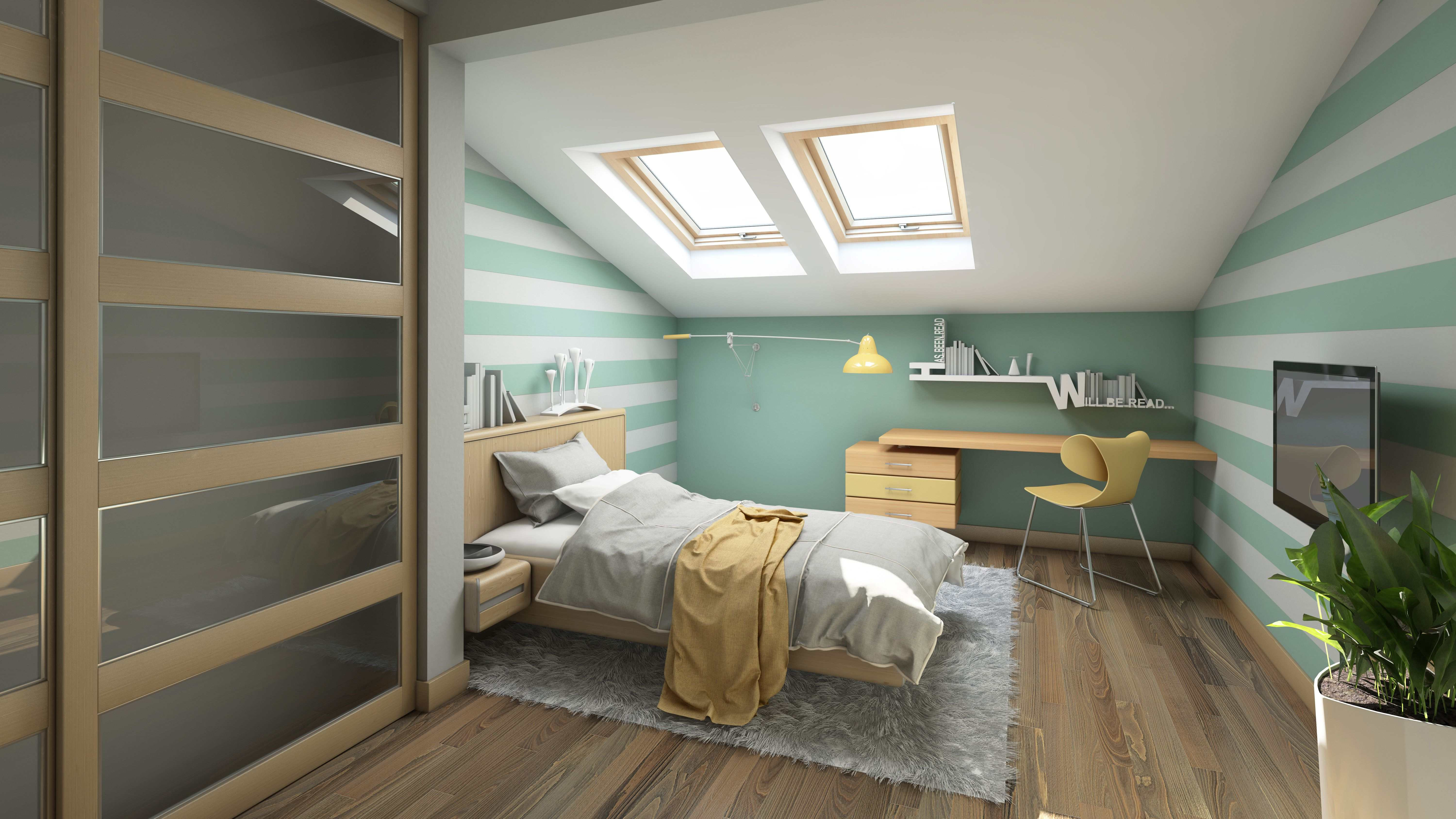 How to convert an attic into a bedroom