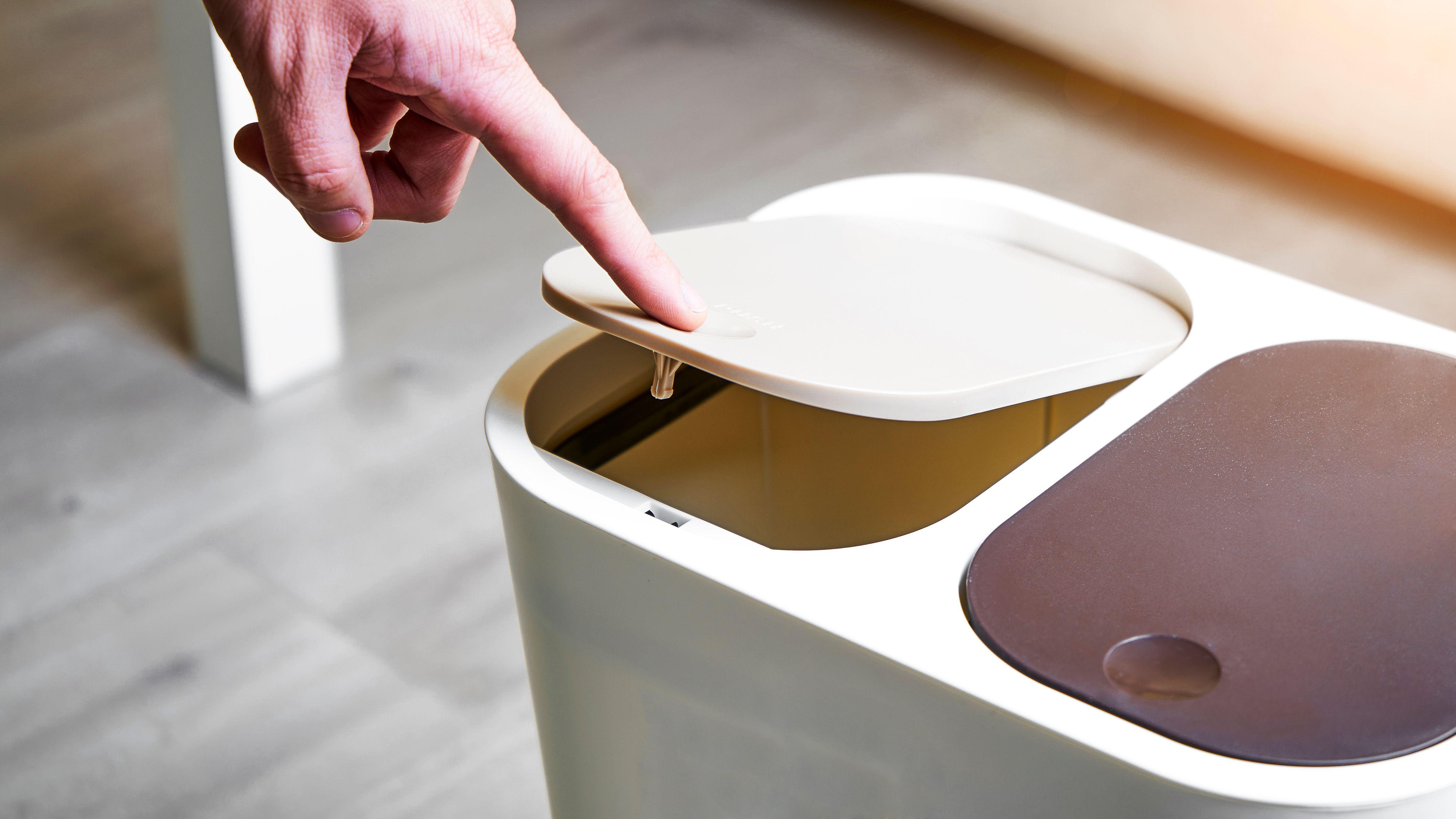 Cómo elegir el cubo de basura de la cocina