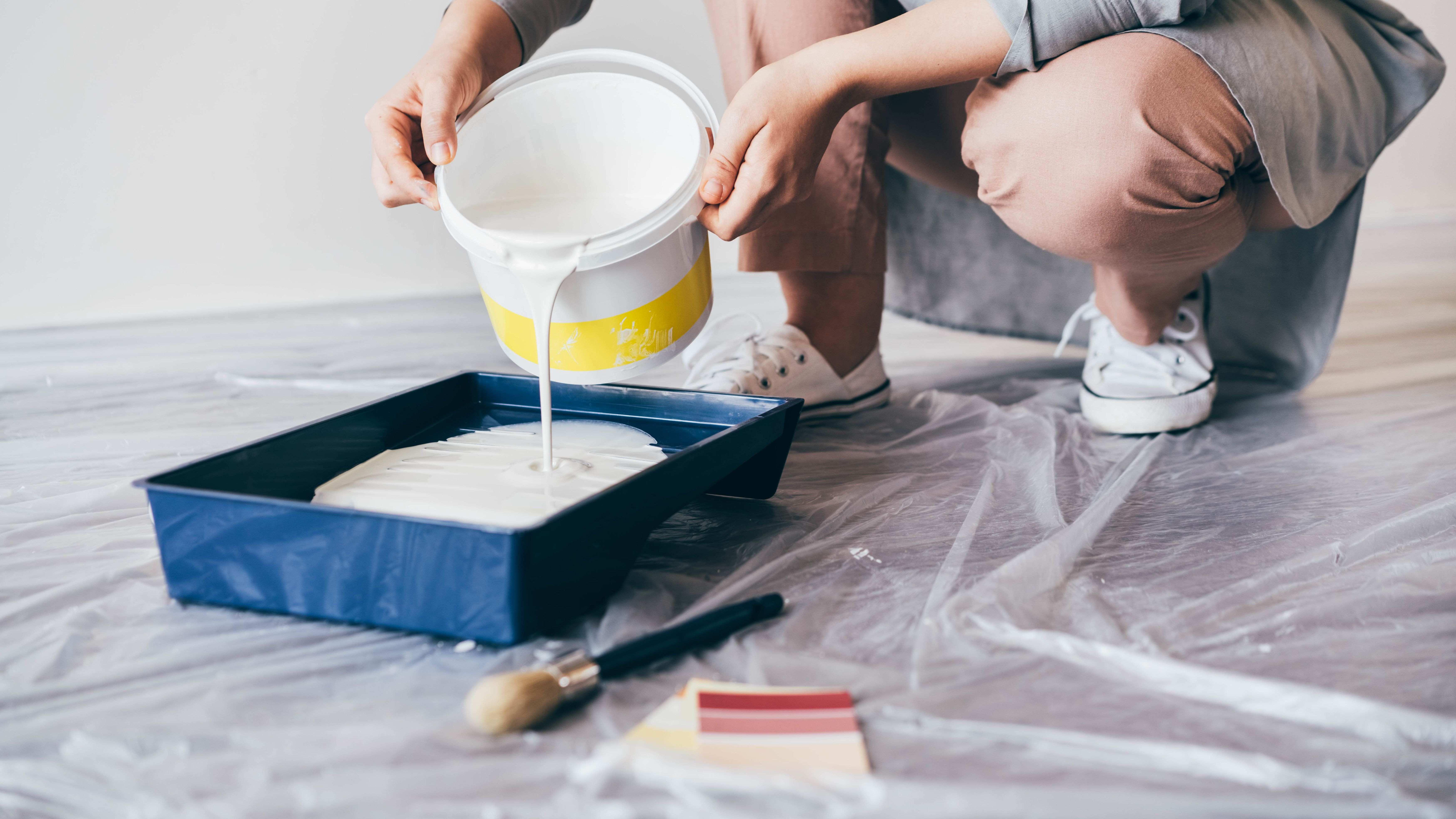 Cómo elegir pintura para la cocina y el cuarto de baño