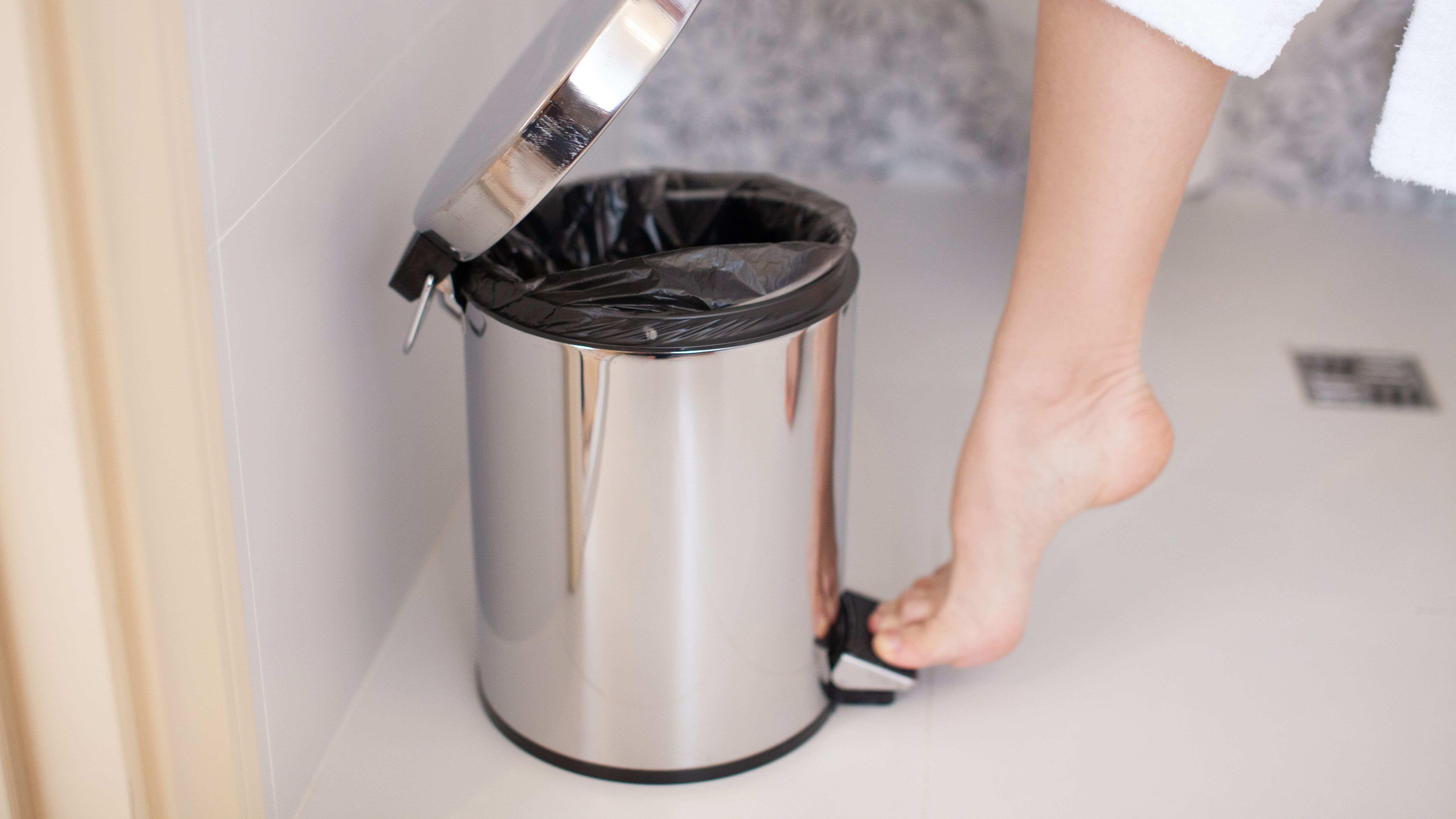 Bad-Abfallbehälter: So treffen Sie die richtige Wahl