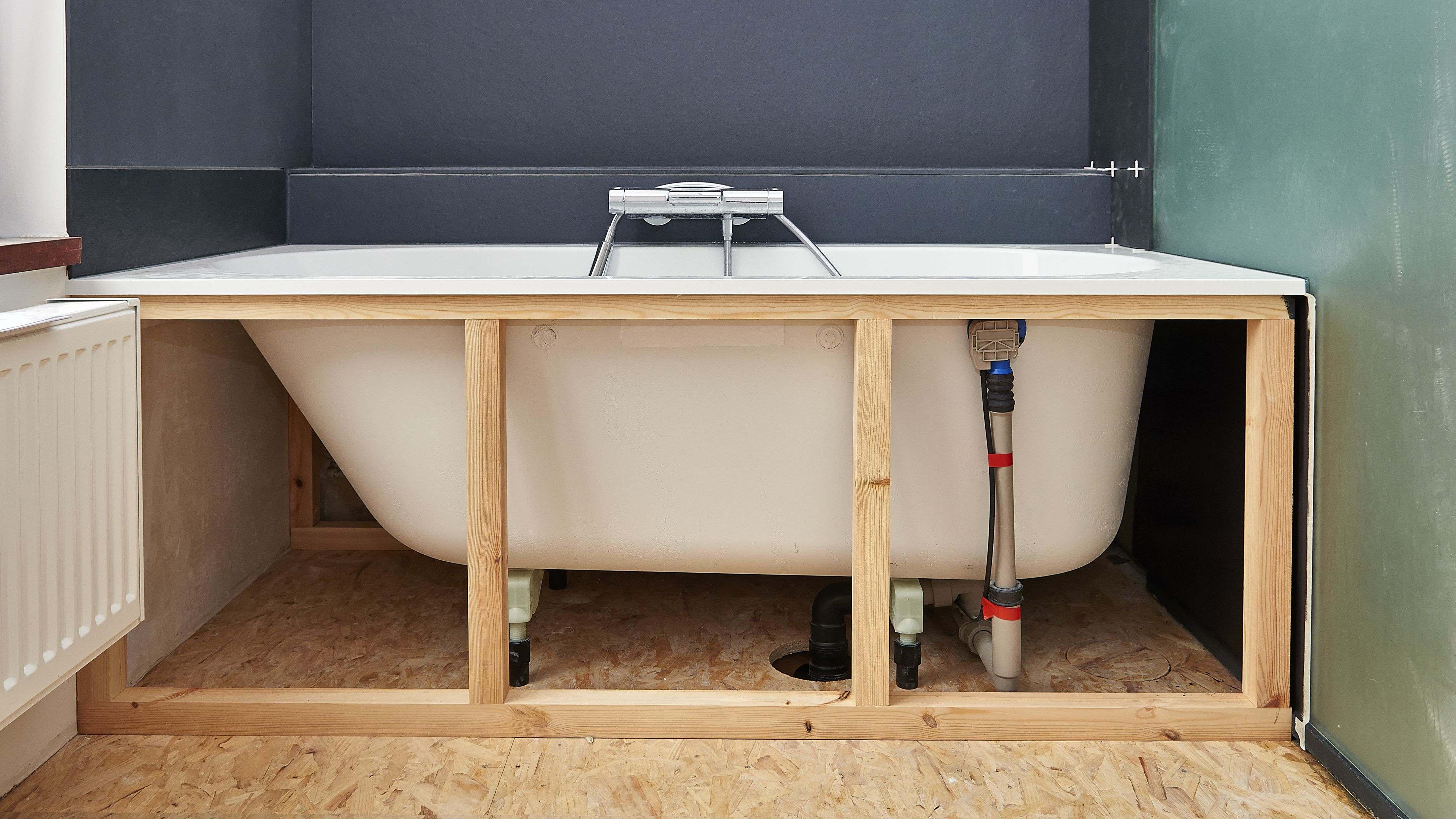 Comment installer une baignoire