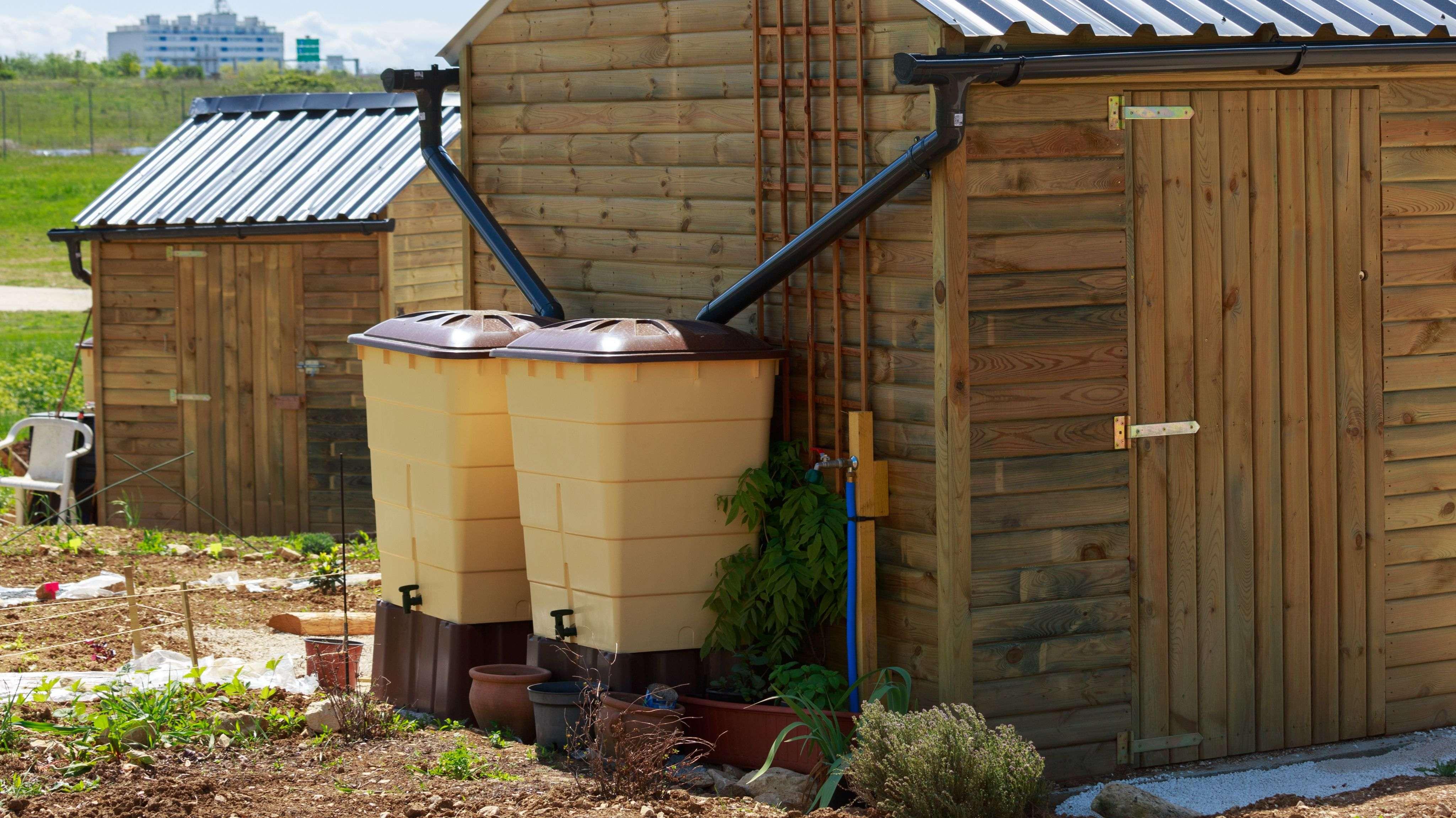 Come scegliere un sistema di recupero dell'acqua piovana
