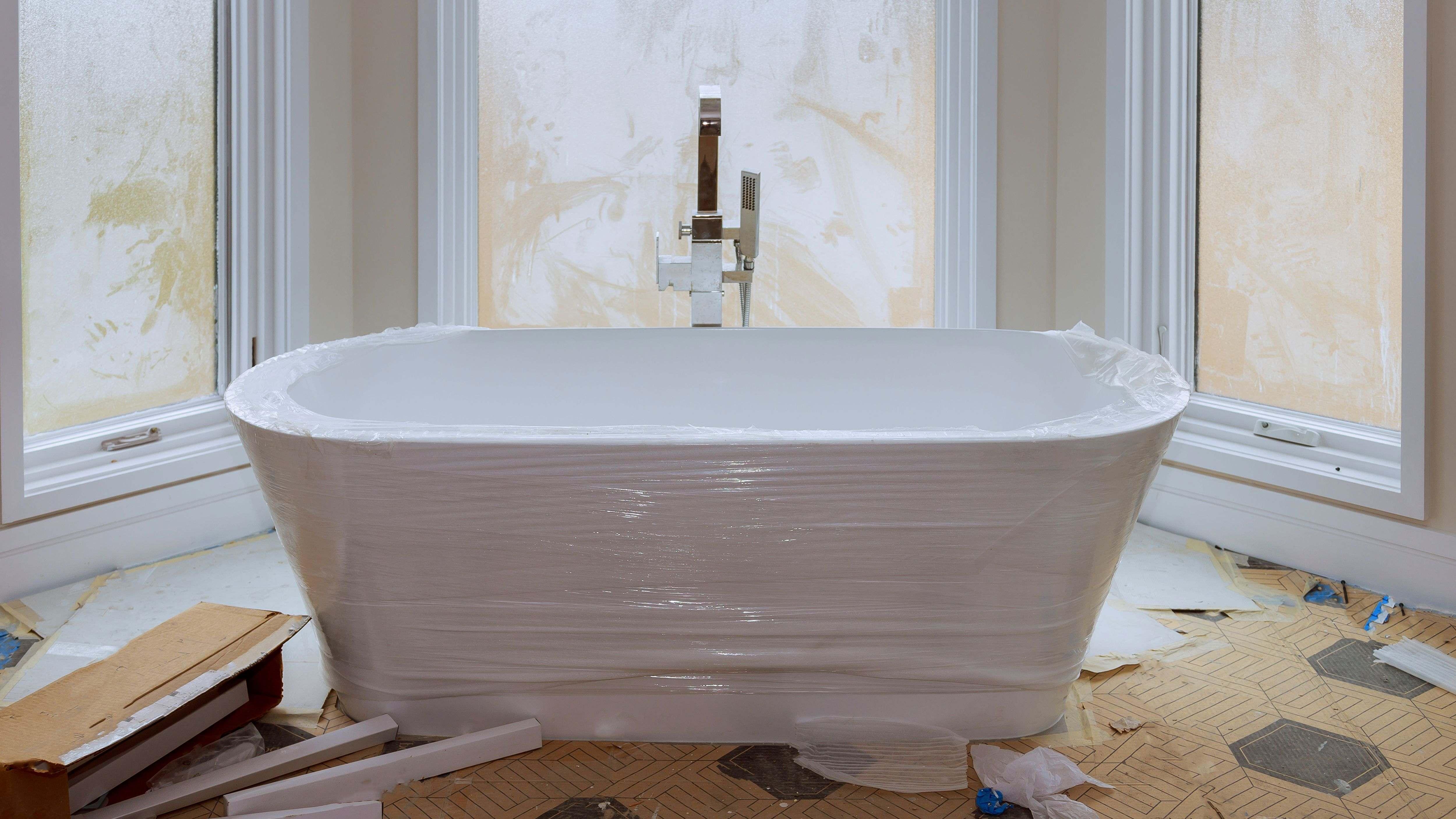 Come installare una vasca da bagno freestanding