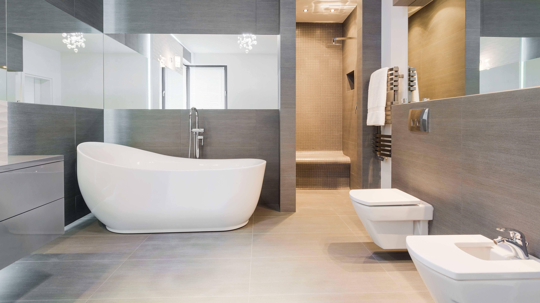Salle de bains moderne   : réussir l'aménagement