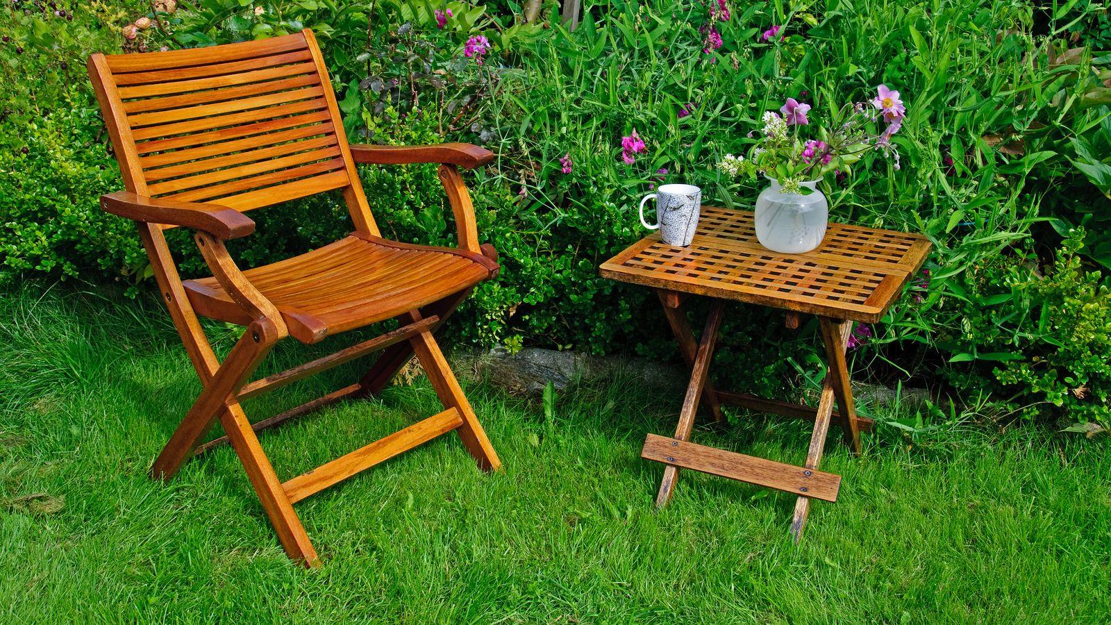 Come scegliere le sedie per il giardino