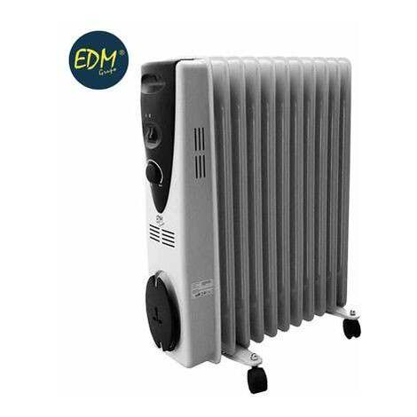 Edm Estufa Radiador Aceite 11 Elementos 2500W