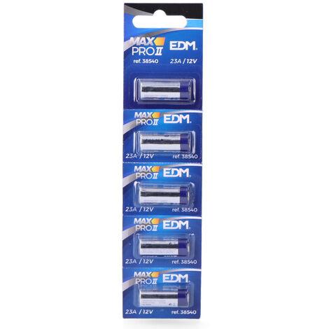 """main image of """"EDM Pila alkalina 23a 12v (mando a distancia) edm"""""""